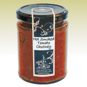 Hot Smoked Tomato Chutney