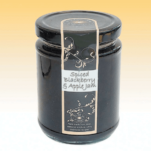 Spiced Blackberry & Apple Jam